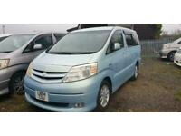 TOYOTA ALPHARD HYBRID BREAKING , 2004, 2.4 BREAKING ALL PARTS AVAILABLE