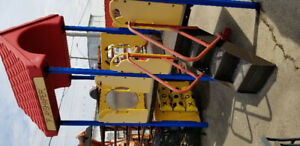 Commercial playground  heavy duty