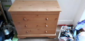 3 Drawer chest drawers