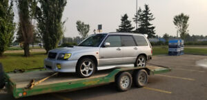 2001 jdm forester turbo parting out