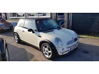 Mini Mini 1.6 Cooper white 85k £2295 PART EXCHANGE WELCOME