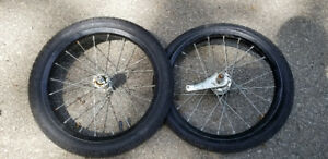 Bontrager 16 Inch Tires on Rims