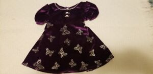GORGEOUS CHRISTMAS DRESS FOR A PRECIOUS BABY GIRL