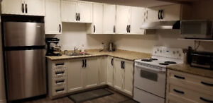 Fully furnished basement apartment for rent female only