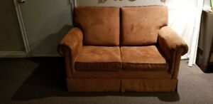 FREE to a good home leatherette SOFA BED in GEORGETOWN