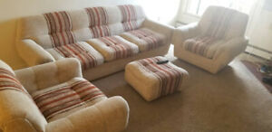 Living room furniture in good condition