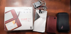 Nintendo DS XL - Burgandy