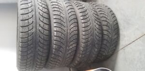 Complete set of (4) winter tires and rims