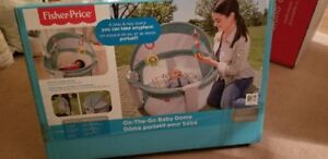 Fisher-Price  -  On-The-Go Baby Dome  BRAND NEW IN THE BOX
