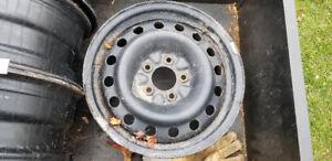 Steel Rims (4) 16 x 6.5
