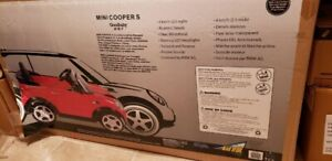 Never Used Mini Cooper S  by Paragon Child Product - Red