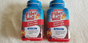 vitafusion Fiber Well Sugar Free Gummies-90 Gummies.Ex.01/19