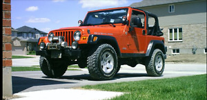 IN TIME FOR SUMMER 2005 Jeep Rubicon Convertible Low KMs