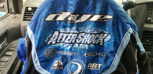 Autographed Chicago aftershock team Jersey