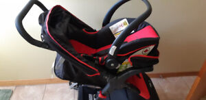 Infant travel system - car seat and stroller
