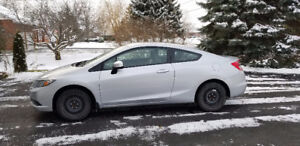 2013 Honda Civic Coupe (2 door) 57000 kms