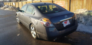 2008 Nissan Altima Leather Seat Sedan