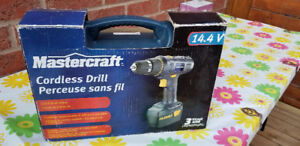 """""""MASTERCRAFT"""" - Cordless Drill - Great Condition"""