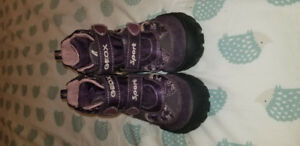 Geox Sport Respira girls boots,  purple, size 10.5