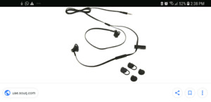 Brand New Blackberry 3.5 mm earphones w/ mic