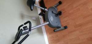 Stand up exercise bike