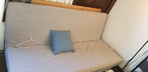 Sofa Bed + Sofa cover (Queen size)