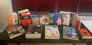 Electronic magazines and books