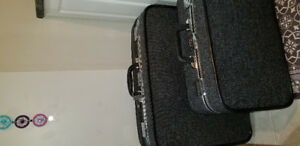 Antique Skyway Luggage Set
