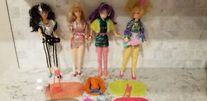 Vintage 80s JEM dolls + accessories