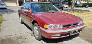 Honda Accord 91 for sale