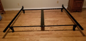 Kind size metal bed frame- Sleep Country