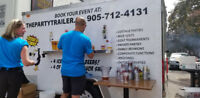 Keg Beer Wedding Tent trailer Rental