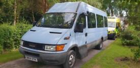 Iveco ex Council LWB Mini Bus, ideal Camper project