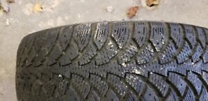 4 - 14in Winter tires - about half tread left 185 / 70 R14