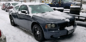 2007 DODGE CHARGER POLICE PACK