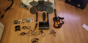 PS3 + Call of Duty + Guitar Hero + 2 Controllers