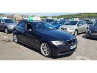 2007 BMW 320D M-SPORT AUTO++LEATHER++3 OWNERS++FULL SERVICE HISTORY...
