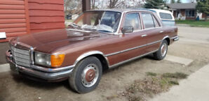 """""""Showroom Condition""""  1976 Mercedes, Imported fr. Germany"""