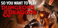 Dungeons and Dragons get together