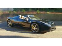 2017 Ferrari 458 Spider Petrol Black Semi Auto