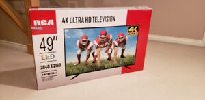 """RCA 49"""" LED 4K TV (Near Brand New Condition)"""