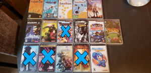 Collection of PSP Games