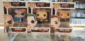 Suicide Squad And Batman Funko Pop
