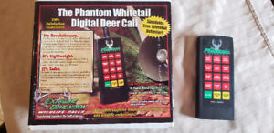 Phantom DIGITAL WHITETAIL DEER HUNTING CALL ELECTRONIC  NEW
