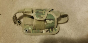 Multicam Molle Holster (horizontal)