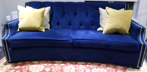Navy Blue Decor-Rest  Couch
