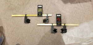 Robart incidence meters for RC plane setup
