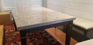 Modern Marble Dining Room Table For Sale -$400