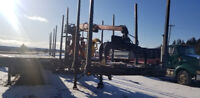 Wood trailer Moncton New Brunswick Preview