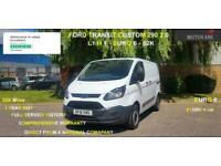 2018 Ford Transit Custom 2.0 290 L1 H1, 1 OWNER, FSH , 52K, EU 6 - 1 OWNER, FSH,